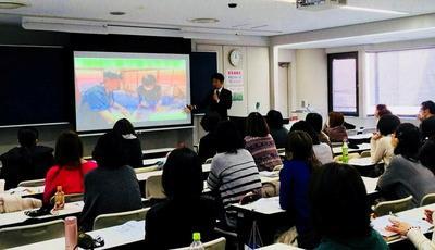 大阪府栄養士会の研修会で講演してきました。