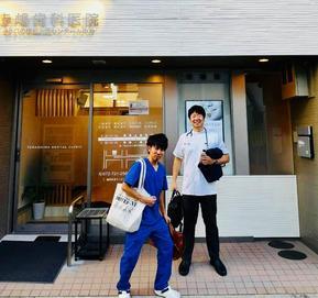 大分県の前田先生が見学にいらっしゃいました。