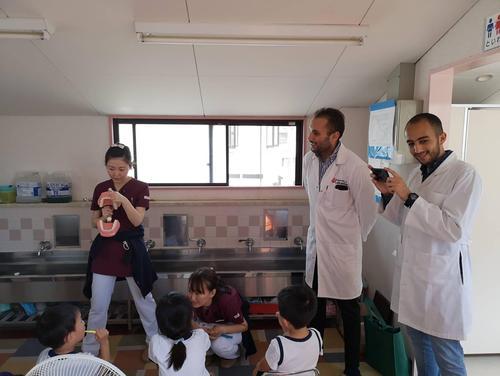 エジプト人歯科医師が見学に来られました。